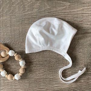 Hanna Anderson baby pilot bonnet size xxs